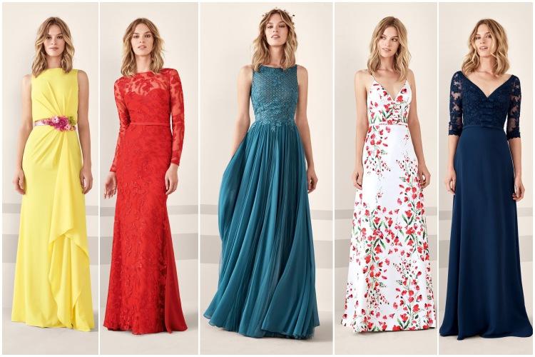 vestidos largos pronovias de fiesta